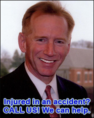 Injured in an accident?  CALL US!  We can help.